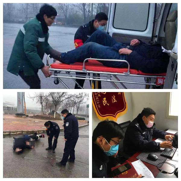 社旗县城郊派出所:疫情防控战 他们勇当先