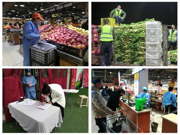 宛城区:做好大型超市疫情防控 确保民生物资供应充足