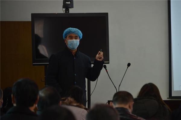 """【社区战""""疫""""】义马市教体局:疫情防控关键期 行业培训正当时"""