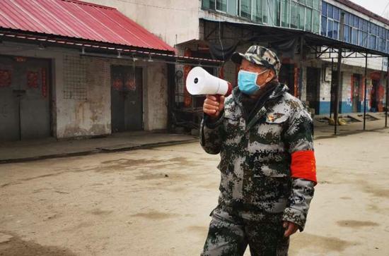 驻马店高新区:88岁老党员争上防疫一线 曾义务打扫村厕多年
