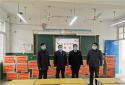 卧龙区农信联社向学校捐赠网络教学电脑