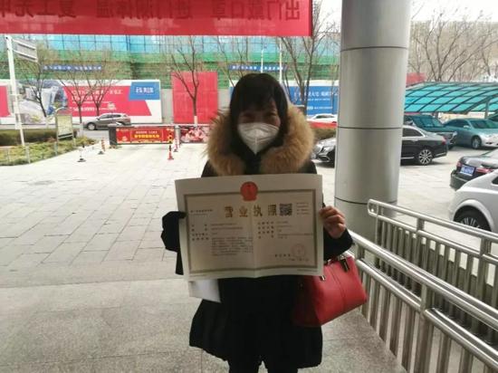 """郑州高新区开:辟绿色通道为战""""疫""""加速 营业执照1个半小时办结"""