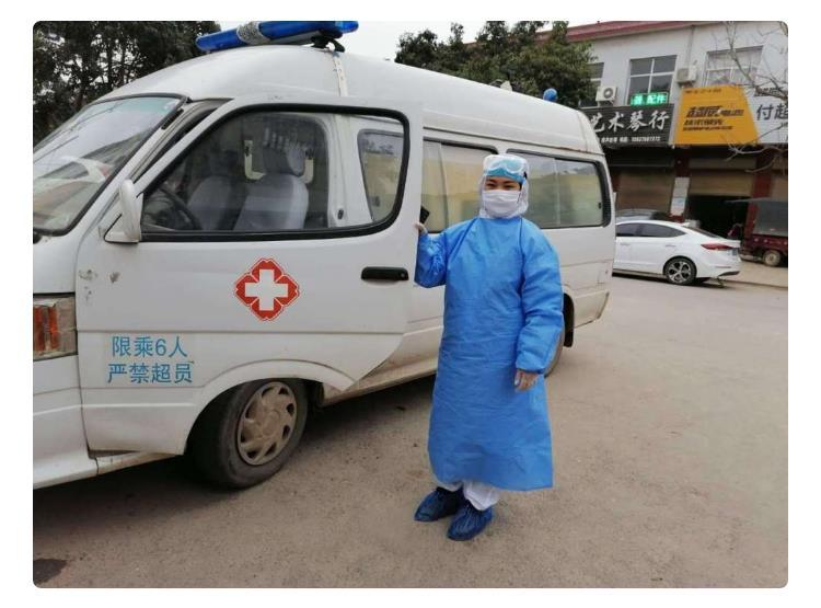 【河南战疫】急救车女司机李雪征:每天数百公里 方向盘就是我的阵地