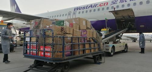 白衣天使依然逆行一线!西部航空双机护航148名医护人员及6吨防疫物资驰援武汉