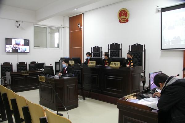 """卧龙区法院:院领导用""""三远一网""""系统开庭审理刑事案件并当庭宣判"""