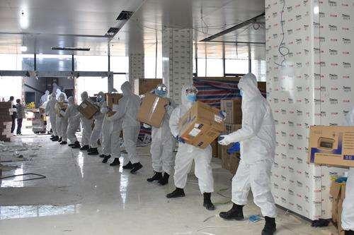 湖北已累计接收社会捐赠资金115.43亿元 医用防护服及口罩依旧急需