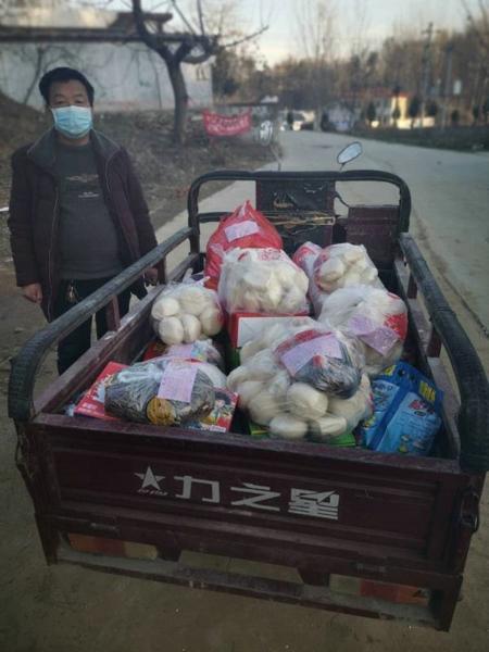 菜单式选购 上门式送货 贴心式服务——南召县白土岗镇干部跑腿代办群众安心居家