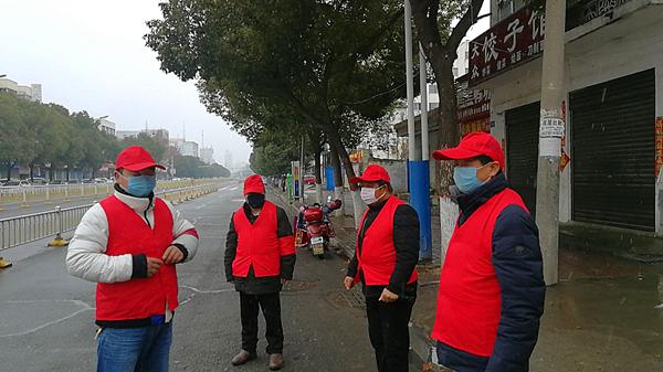 邓州水利局三郎堰管理所坚守社区疫情防控一线线