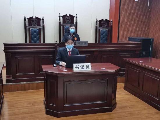 """河南新乡:""""卫滨微法院"""" 开启庭审新时代"""