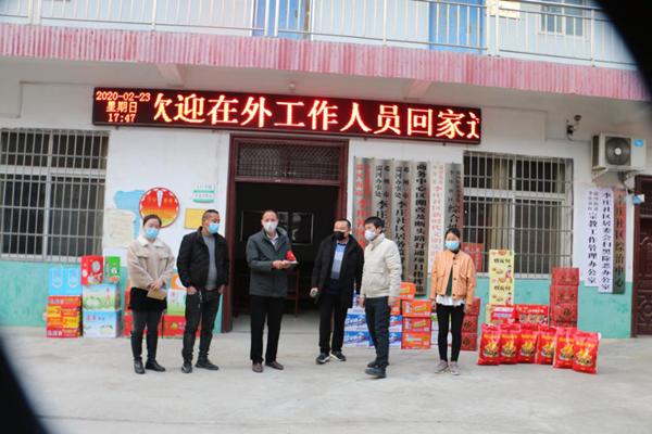 邓州市李庄社区居委会:村民协力阻疫情