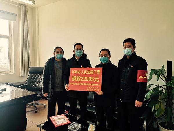 邓州:众志成城战疫情