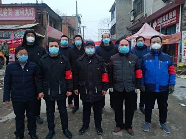 国网邓州供电公司党员突击队: 构筑社区居民健康防线