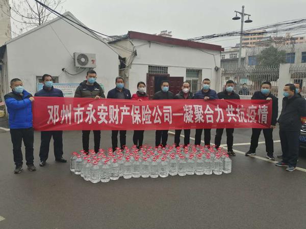 邓州市交通运输局执法所抗疫中的