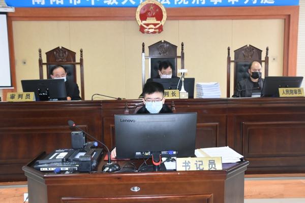 """桐柏法院:""""法检""""两长共同出庭,云模式""""审理刑事案"""