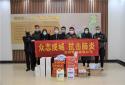 """【社区战""""疫""""】郑州市二七区退役军人企业家为疫线捐赠物品"""
