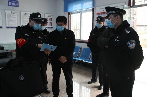 新野县委副书记、县长赵红亮到县看守所检查指导疫情防控工作