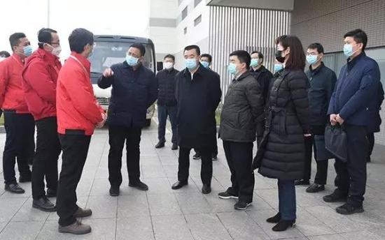 河南省委统战部:张红林到二七区调研民营企业复工复产工作