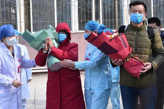 郑州市第六人民医院最后2名新冠肺炎患者出院