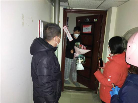 """【社区战""""疫""""】郑州城东路街道办事处:隔离有关爱 社区送祝福"""