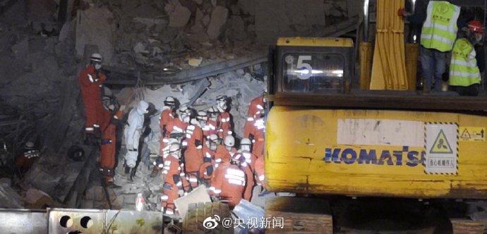 泉州酒店坍塌致26人死亡 3人仍在搜救中
