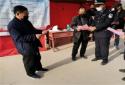 淮滨新里派出所强化疫情下的防电诈宣传