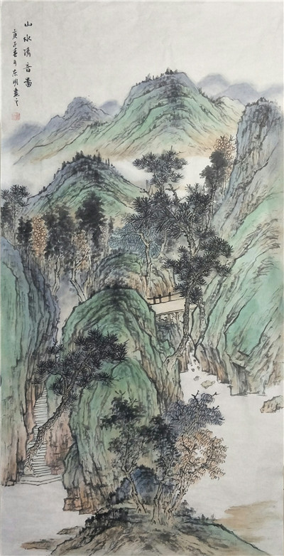 意境深远 气势磅礴——河南画家王东明作品赏析