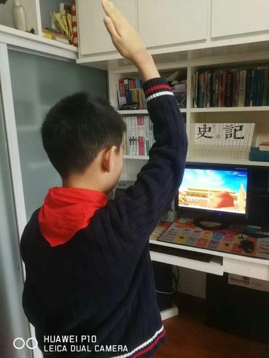 """郑州管城区南关小学少先队员:做有担当的""""强国一代"""""""