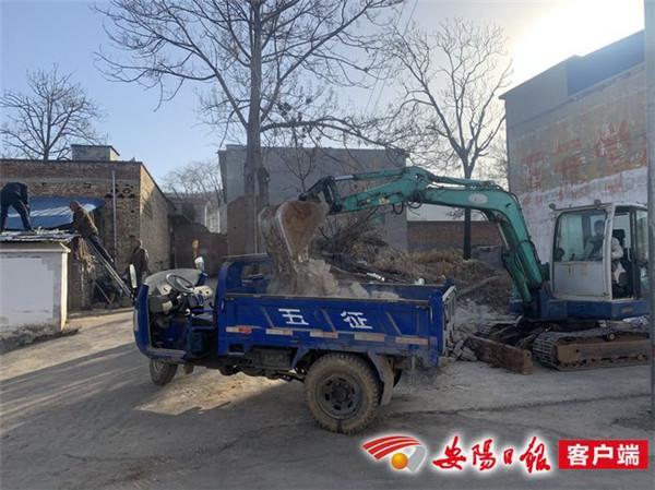 林州市后子岗村:绘就乡村美景 助力乡村振兴