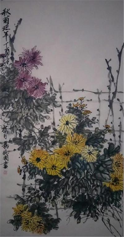 清新自然 老辣多姿——画家杨晓国作品赏析
