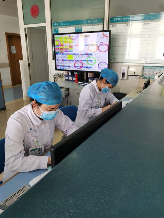 河南省肿瘤医院血液九病区医护人员用医德和爱心诠释了医护人员的职责