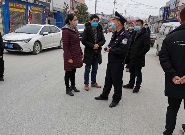 南召:社区民警构筑抵御疫情的坚强桥头堡