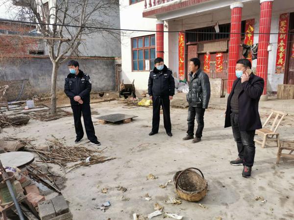 南召民警王朝:排查工作的质量,决定着疫情防控的效果