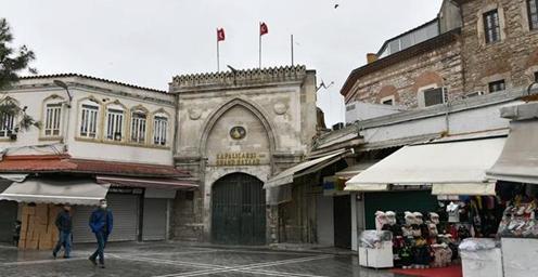 土耳其关闭传统市场伊斯坦布尔大巴扎