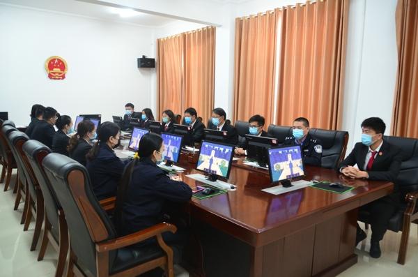 新野县法院开展网上祭英烈活动