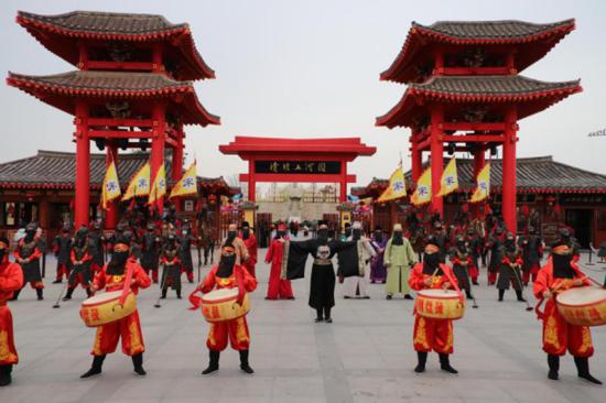 2020中国(开封)清明文化节活动——六大活动精彩亮相清明上河园