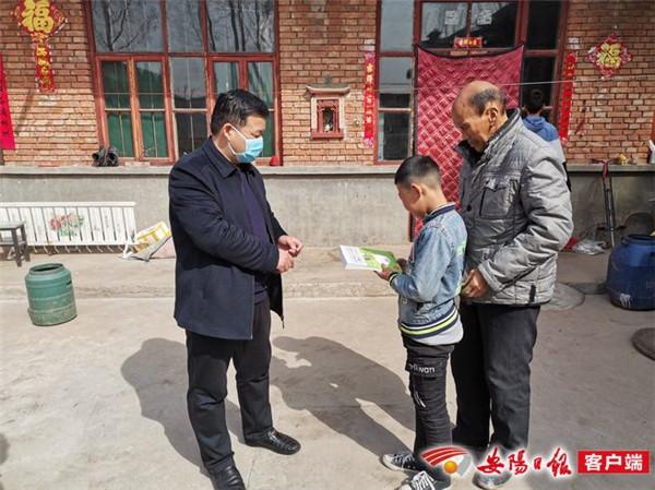 林州市振林街道:扶贫新风尚 书香飘四方