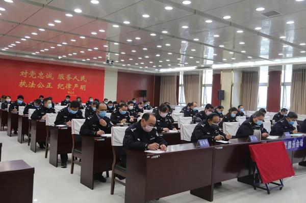 社旗县公安局召开全县公安工作会议