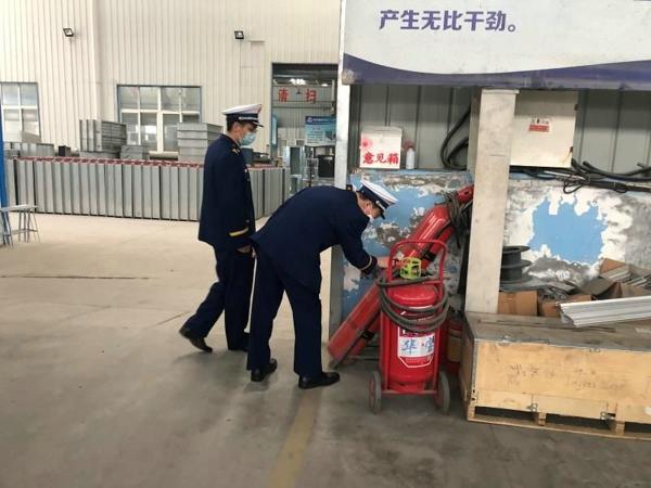 南阳市消防救援支队开展消防产品质量专项检查