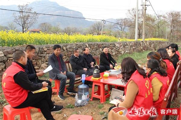 林州市合涧镇:大自然里的读书分享会