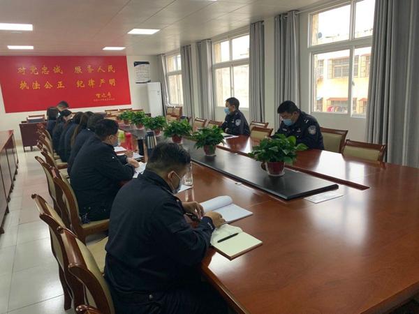 邓州:胜利派出所扎实推进执法规范化建设