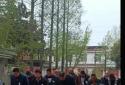 """邓州市桑庄镇尹营村举办""""清明祭英烈""""主题活动"""