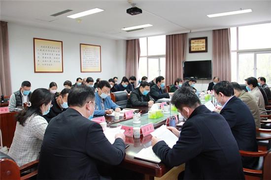 洛阳市委统战部召开理论学习中心组(扩大)会议