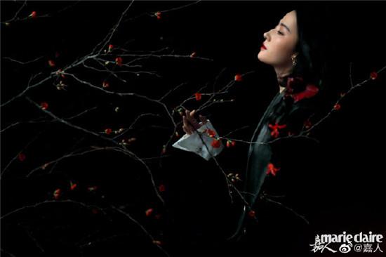 电影《花木兰》敲定新档期!刘亦菲全妆木兰再登时尚大刊 打造繁花写真