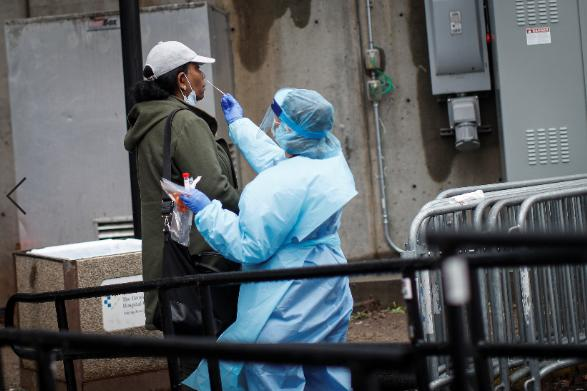 美国确诊病例超过36万 美国新冠肺炎死亡病例超1万