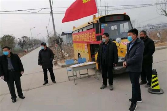太康陈朝阳:防控战线上,他把单位当成家