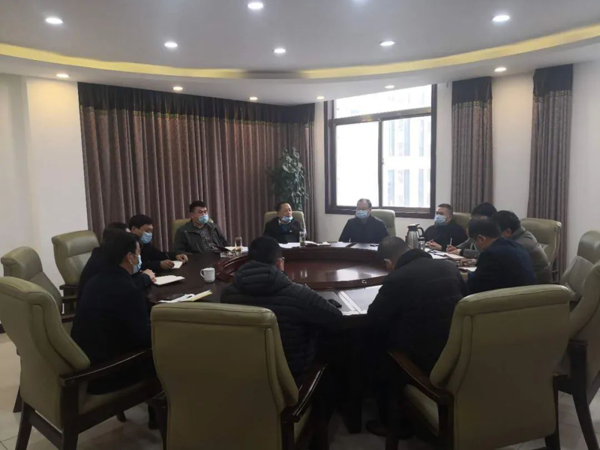 邓州法院召开基层法庭庭长座谈会