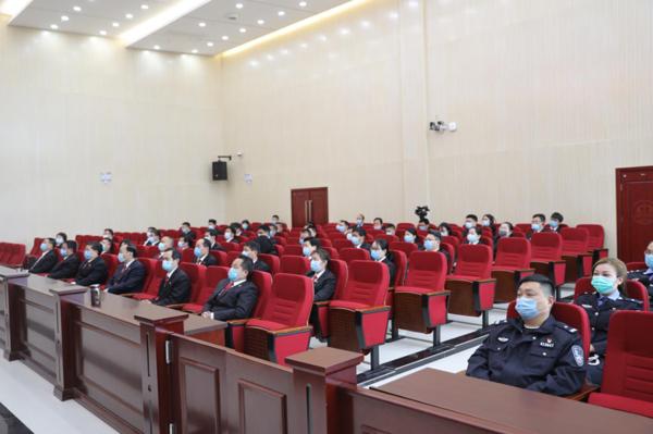 内乡法院召开2020年度工作暨党风廉政建设工作会议