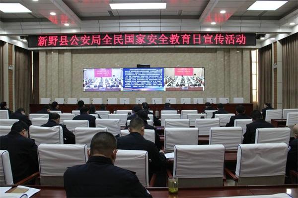 新野县公安局组织开展全民国家安全教育日系列宣传活动