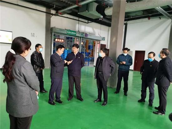 鹤壁市委副书记张然调研民营企业发展情况