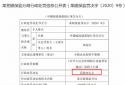 小微企业划型不准确 中国邮政储蓄银行莱芜分行被罚款20万元